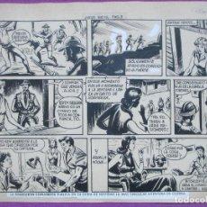 Cómics: DIBUJO ORIGINAL PLUMILLA, EL HIJO DE LA JUNGLA, JUEGO SUCIO, 1 HOJA, S10. Lote 141912834