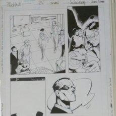 Cómics: PÁGINA ORIGINAL DE BACKLASH - JUVAUN KIRBY. Lote 143864434
