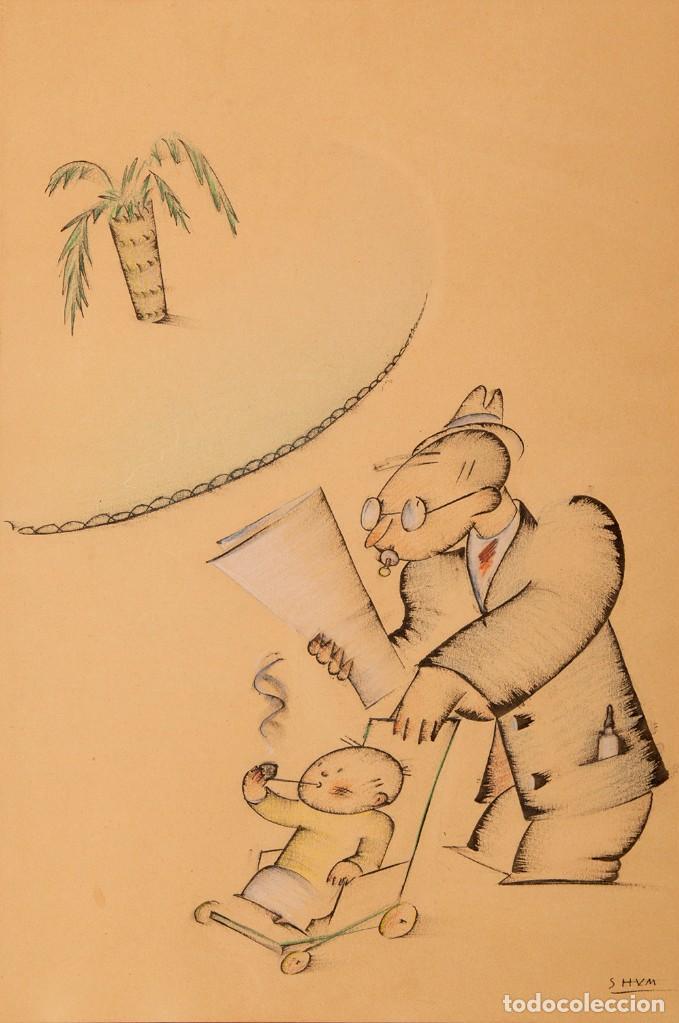 RESEEVADO - SHUM - DIBUJO ORIGINAL (Comics - Art Comic)