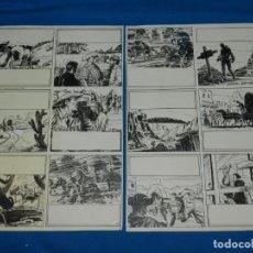 Cómics: (BR2) DIBUJO ORIGINAL DE BROCAL REMOHI - HISTORIA COMPLETA DE 2 PAG , SELECCIONES ILUSTRADAS 1958. Lote 144489958