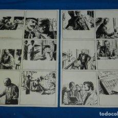 Cómics: (BR3) DIBUJO ORIGINAL DE BROCAL REMOHI - HISTORIA COMPLETA DE 2 PAG , SELECCIONES ILUSTRADAS 1958. Lote 144490066