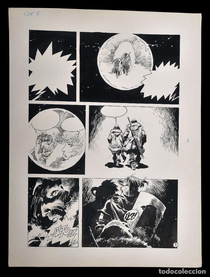 ENRIQUE BRECCIA - AVRACK - PAGINA ORIGINAL (Tebeos y Comics - Art Comic)