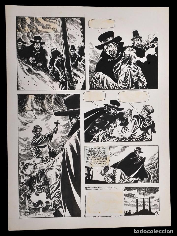 ENRIQUE ALCATENA - PAGINA ORIGINAL (Tebeos y Comics - Art Comic)