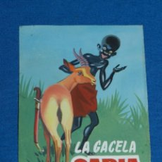 Cómics: (RG11) DIBUJO PORTADA ORIGINAL DE RIPOLL - LA GACETA SABIA , PORTADA DE CUENTO, 12'5 X 9 CM. Lote 145492686