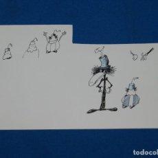 Cómics: (BH10) DIBUJO ORIGINAL DE BOSCH ?? , 25 X 15'5 CM, BUEN ESTADO. Lote 145619450