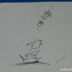 Cómics: (BH12) DIBUJO ORIGINAL DE BOSCH , 30 X 21 CM, BUEN ESTADO. Lote 145619686