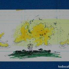 Cómics: (BH13) DIBUJO ORIGINAL DE BOSCH , 28 X 11 CM, BUEN ESTADO. Lote 145619814
