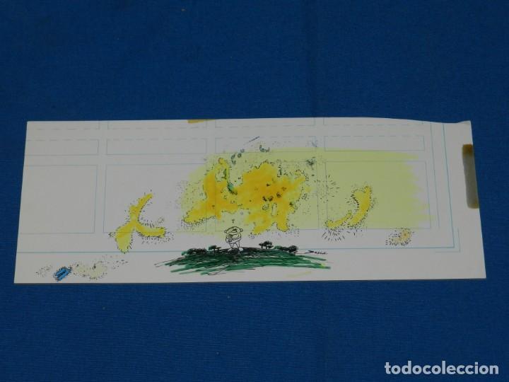 Cómics: (BH13) DIBUJO ORIGINAL DE BOSCH , 28 X 11 CM, BUEN ESTADO - Foto 2 - 145619814