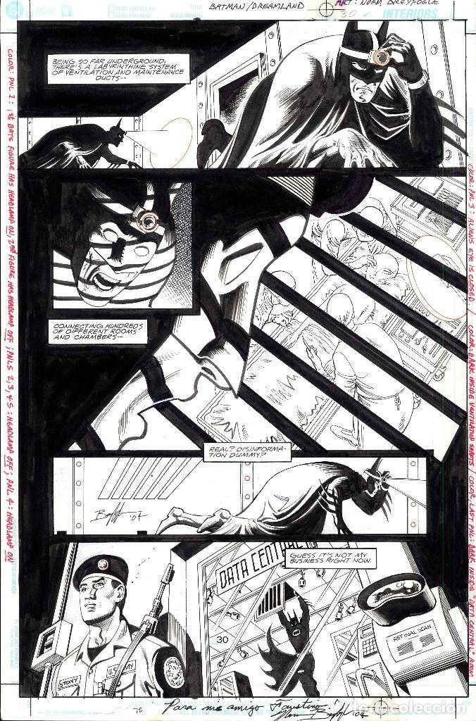 ART COMIC ORIGINAL BREYFOBRE 43 X 28 CM PRECIO UNIDAD (Tebeos y Comics - Art Comic)