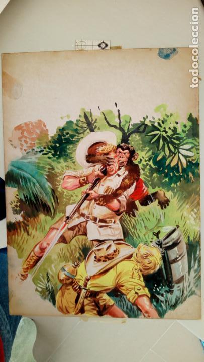 KALAR. PORTADA ORIGINAL DEL NUMERO 9. ARTE ORIGINAL (Tebeos y Comics - Art Comic)