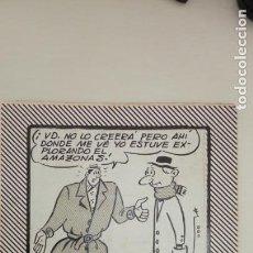 Cómics: RIPOLL G. MIGUEL RIPOLL GUADAYOL. DIBUJO ORIGINAL A TINTA FIRMADO.. Lote 145979454