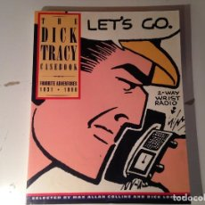 Cómics: THE DICK TRACY CASEBOOK FAVORITE ADVENTURES 1931-1990. Lote 146285378