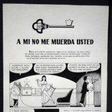 Cómics: BESTARD, GUILLERMO. PÁGINA ORIGINAL DE UNA HISTORIA DE LAURA. PAG. 7. GISA EDICIONES 1975. Lote 146376082
