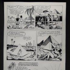 Cómics: BESTARD, GUILLERMO. PÁGINA ORIGINAL DE UNA HISTORIA DE LAURA. PAG. 28. GISA EDICIONES 1975. Lote 146377914