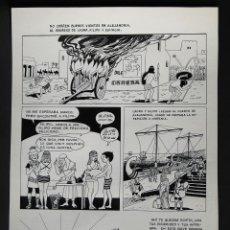 Cómics: BESTARD, GUILLERMO. PÁGINA ORIGINAL DE UNA HISTORIA DE LAURA. PAG. 31. GISA EDICIONES 1975. Lote 146378090