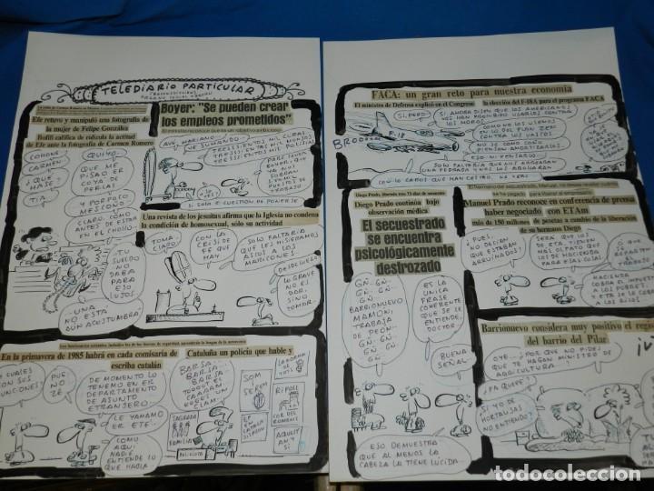 (BD) DIBUJO HISTORIA COMPLETA DE IVA - ORGANO SESUAL OBRERO , 2 PAG , PUBLICADO EN EL PAPUS 475 (Tebeos y Comics - Art Comic)