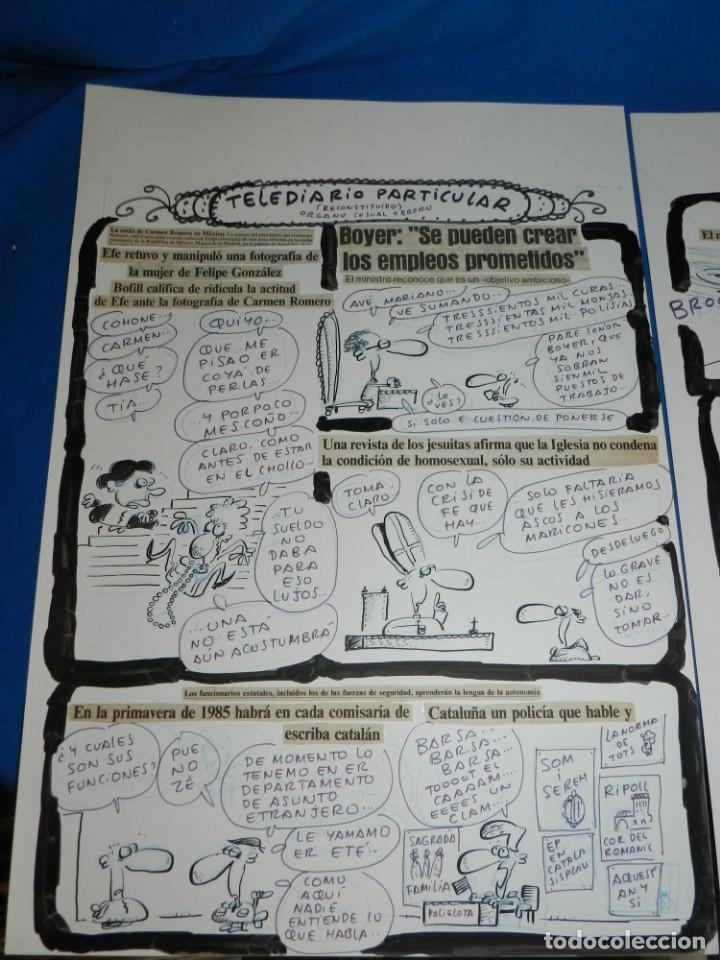 Cómics: (BD) DIBUJO HISTORIA COMPLETA DE IVA - ORGANO SESUAL OBRERO , 2 PAG , PUBLICADO EN EL PAPUS 475 - Foto 2 - 146570750