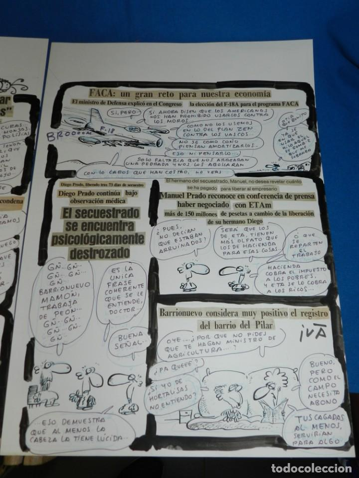 Cómics: (BD) DIBUJO HISTORIA COMPLETA DE IVA - ORGANO SESUAL OBRERO , 2 PAG , PUBLICADO EN EL PAPUS 475 - Foto 3 - 146570750