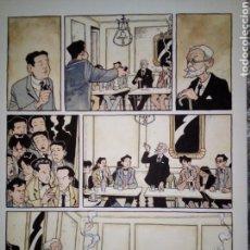Cómics: JUANFRAN CABRERA. PAGINA ORIGINAL DE LOS CABALLEROS DE LA ORDEN DE TOLEDO. Lote 147080702