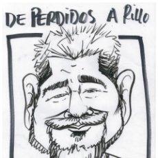 Cómics: DIBUO ORIGINAL EDURNE - DE PERDIDOS A RILLO - 29,5 CM X 21 CM.. Lote 147587710
