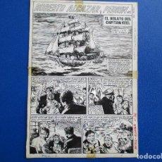 Cómics: ROBERTO ALCÁZAR EXTRA 1965 Nº 65, COMPLETO: 7 PÁGINAS (SIN PORTADA). PLANCHAS ORIGINALES.. Lote 148018258