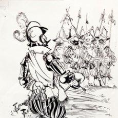 Cómics: VIZCAINO - ORIGINAL A TINTA. Lote 148028310