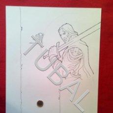 Cómics: TUBAL FARO MIGUEZ DIBUJO ORIGINAL GRAN TAMAÑO COMIC ARTISTA DIBUJANTE SEVILLANO SEVILLA. Lote 149249822