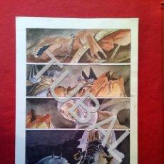 Cómics: TUBAL FARO MIGUEZ DIBUJO ORIGINAL GRAN TAMAÑO COMIC ARTISTA DIBUJANTE SEVILLANO SEVILLA. Lote 149250118