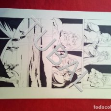 Cómics: TUBAL FARO MIGUEZ DIBUJO ORIGINAL GRAN TAMAÑO COMIC ARTISTA DIBUJANTE SEVILLANO SEVILLA. Lote 149251274