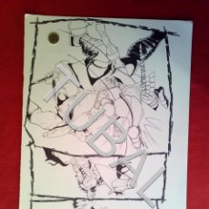Cómics: TUBAL FARO MIGUEZ DIBUJO ORIGINAL GRAN TAMAÑO COMIC ARTISTA DIBUJANTE SEVILLANO SEVILLA. Lote 149251446