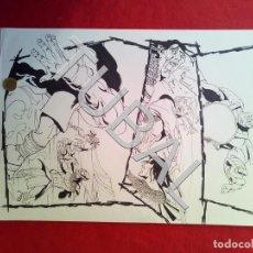 Cómics: TUBAL FARO MIGUEZ DIBUJO ORIGINAL GRAN TAMAÑO COMIC ARTISTA DIBUJANTE SEVILLANO SEVILLA. Lote 149251710