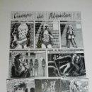 Cómics: (BD) DIBUJO ORIGINAL DE ALFREDO PONS - CUERPO DE ALQUILER 1983 46 X 32 CM, BUEN ESTADO. Lote 150476466