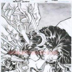 Cómics - Jesús Merino Lámina FIRMADA : Portada Wonder Woman 27 - 151106014
