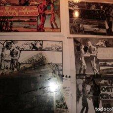 Cómics: ATENCION !! ORIGINALES FOTOLITOS CON LOS QUE SE HACIA EL TEBEO ANTIGUAMENTE,EL HOMBRE ENMASCARADO. Lote 151966206