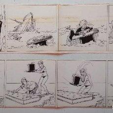 Cómics: OFERTA: LOTE DE 2 TIRAS DE LOLITA DE IÑIGO. Lote 153533578