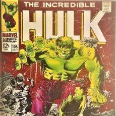 Cómics: DE HULK MARVEL COMICS - GIGANTE CUADRO EN ACRILICO - PRIMERA EDICIÓN. Lote 154556618