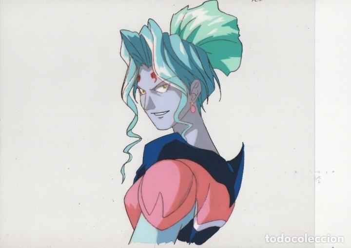 CEL ANIME MANGA CELULOIDE SPEED RACER MACH GOGOGO ORIGINAL JAPANESE ANIMATION CEL WITH DOUGA A5/B3 (Tebeos y Comics - Art Comic)