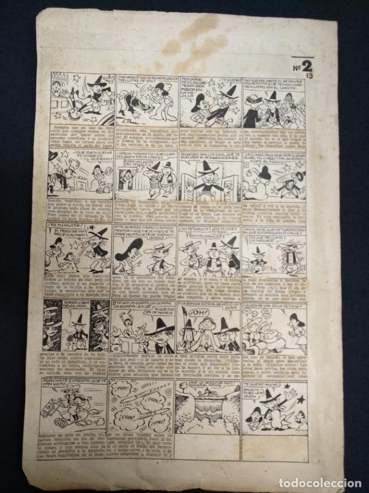DIBUJO ORIGINAL - SIN FIRMAR - MEDIDAS APROXIMADAS 34 CM X 22 CM (Comics und Tebeos - Kunstcomics)