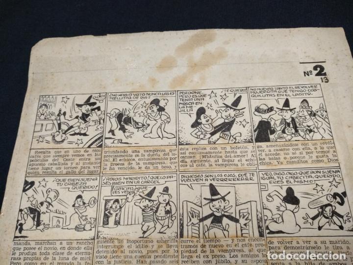 Comics: DIBUJO ORIGINAL - SIN FIRMAR - MEDIDAS APROXIMADAS 34 CM X 22 CM - Foto 2 - 155132510