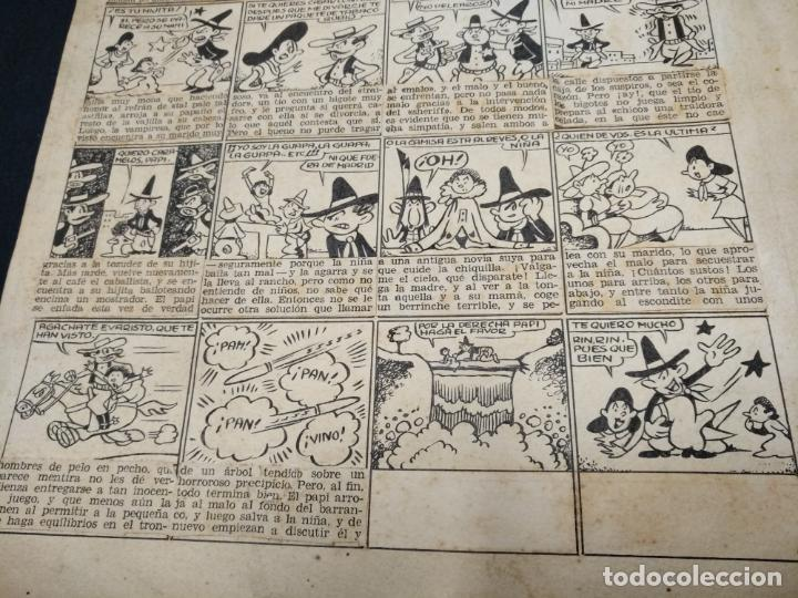 Comics: DIBUJO ORIGINAL - SIN FIRMAR - MEDIDAS APROXIMADAS 34 CM X 22 CM - Foto 6 - 155132510