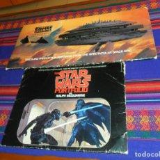 Cómics: STAR WARS GUERRA DE LAS GALAXIAS, IMPERIO CONTRAATACA PORTFOLIO RALPH MCQUARRIE. REGALO RETORNO JEDI. Lote 36980450