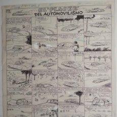 Cómics: ¡¡¡ REBAJADO !!! ORIGINAL DE BENEJAM DEL AÑO 1951. Lote 155381394