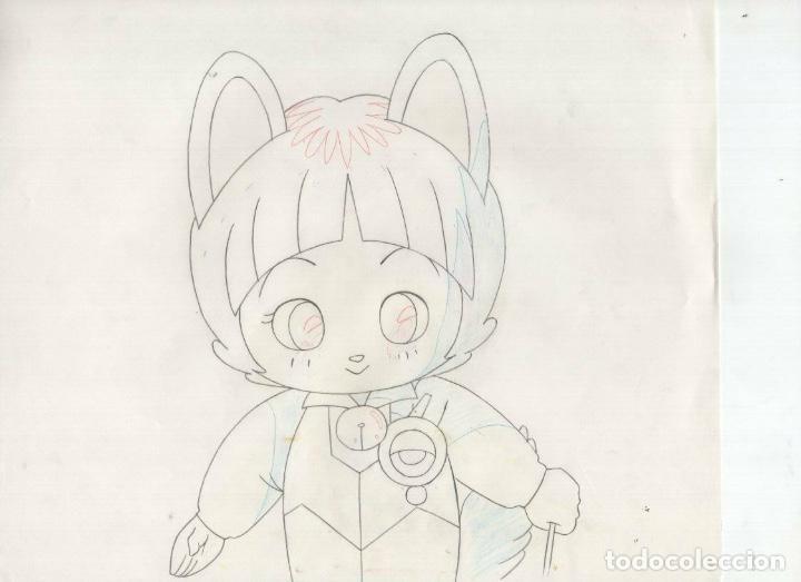 Cómics: cel celuloide Legend of the Mystical Ninja original Japanese animation cel w/douga A2 - Foto 2 - 155522970