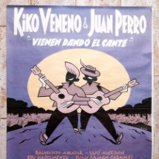 Cómics: MAX - CARTEL KIKO VENENO Y JUAN PERRO - 1993. Lote 155962882