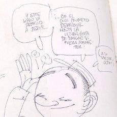 Cómics: MANEL - EMILIA - DIBUJO DEL AUTOR. Lote 155967182