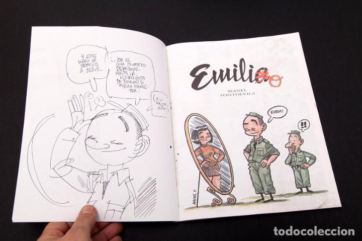 Cómics: MANEL - EMILIA - DIBUJO DEL AUTOR - Foto 4 - 155967182