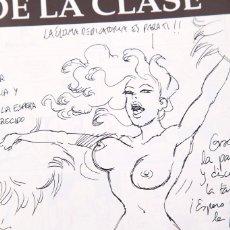 Cómics: RUBEN Y HERNAN - LA SALIDA DE LA CLASE - DIBUJO DEL AUTOR. Lote 155968374
