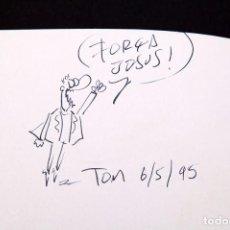 Cómics: TOM - ESTO ES LO QUE HAY - CON DIBUJO DL AUTOR. Lote 155968782