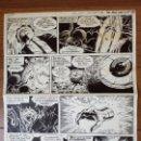 Cómics: DIBUJO ORIGINAL ZARPA DE ACERO JESÚS BLASCO 1965 VÉRTICE. Lote 156699574