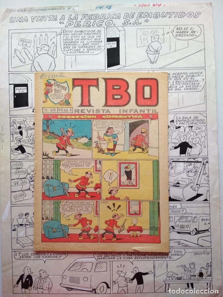¡¡¡REBAJADO!!! ORIGINAL DE BENEJAM DE GRAN TAMAÑO (Tebeos y Comics - Art Comic)